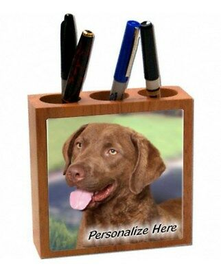 Chesapeake  Bay  Retriever   Personalized  Pencil and Pen Holder