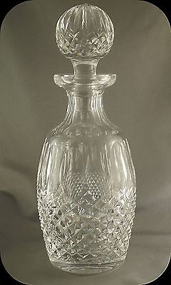 Waterford Crystal Colleen Short Stem Spirit Decanter with Stopper