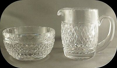 Waterford Crystal Cream and Sugar