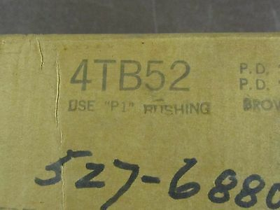 New In Box Browning 4Tb52 4 Groove Sheave
