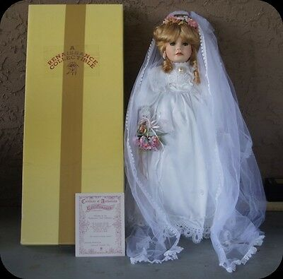 Renaissance Collectables Bride Collector Doll