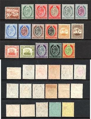 Malta M/m Kevii 1904-14 Sg45-63 Set Of 17