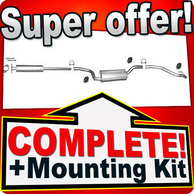 Ford Focus/Focus C-Max 1.4 1.6 16V 2003-11 Silencer Exhaust System H80