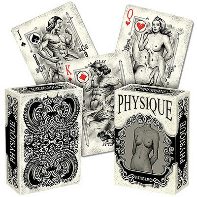 Physique Deck - Playing Cards - Magic Tricks - New