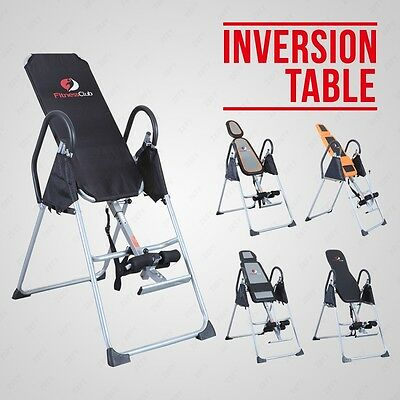 Exercise Bench Inversion Table Invert Align Therapy Pain Fitness Reflexology