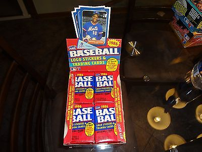 (1) 1986 Fleer Baseball Unopened Wax Packs from Case Fresh Box - JOSE CANSECO RC