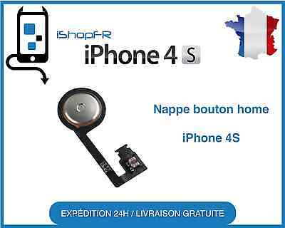 Nappe Bouton Home POUR iPhone 4S