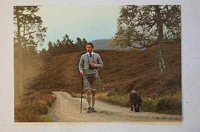 Prince Charles at Balmoral - United Kingdom - Collectable - Postcard.