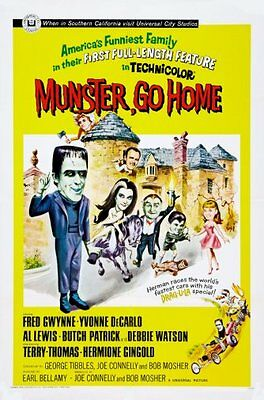 "Munster Go Home Movie Poster 24""x36"""
