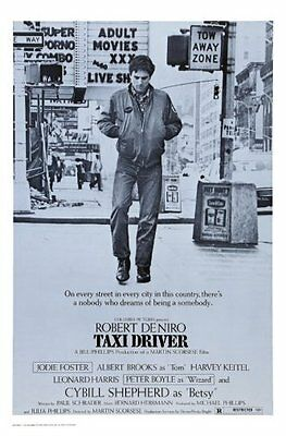 Taxi Driver Movie Poster 24x36