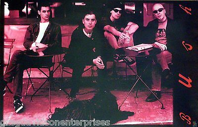 Bush 23x35 Group Poster 1996 Gavin Rossdale