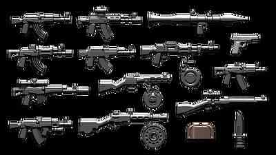 Brickarms Russian Weapons Pack Lego Minifigure Accessory Pack