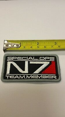 Mass Effect N7 Special Ops Patch Cosplay Costume Video Game Xbox NEW!