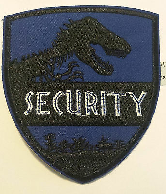 Jurassic Park Inspired Security Patch Cosplay Costume Science Fiction NEW!