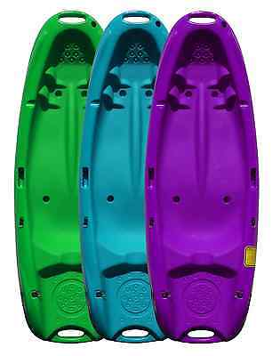Junior Sit On Top Kayak - Ideal for Kids - Purple / Green / Blue - Riber
