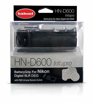 Hahnel HN-D600 Battery Grip for Nikon D600
