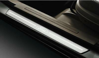 Door Entry Scuff Plates Ford Px Ranger Crew Cab Polished Alloy Wildtrak