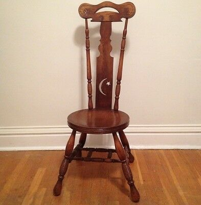 Rare Marked Early Arts And Crafts Mission Klingman & Limbert Chestnut Chair