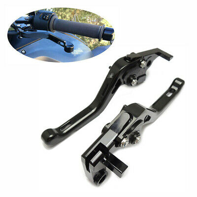 CNC Motorcycle Short Brake Clutch Levers for YAMAHA MT-07 2014-15 14 Black New