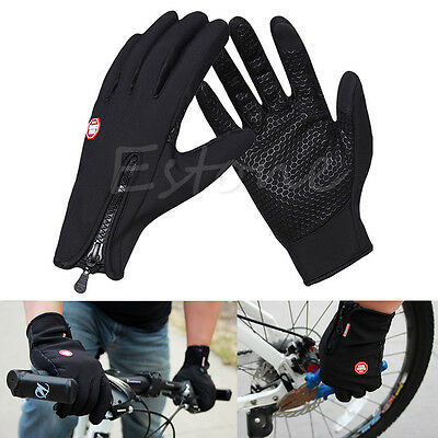 Full Finger Racing Motorcycle Cycling Gloves Bicycle MTB Bike Riding Driving