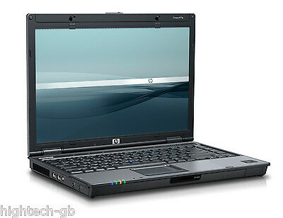 "BEST DEAL HP 6910P 14.1"" Intel Core 2 Duo 4 GB RAM 160GB HDD WIN 7 WIFI DVD RW"