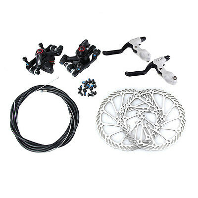 MTB Bicycle Mechanical Disc Brake Front and Rear 160mm Bicycle Caliper G3 Rotors