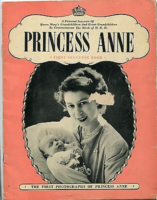C1950 Booklet - Princess Anne First Souvenir Book
