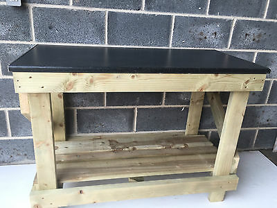 Summer Sale - 4Ft Kitchen Worktop Style Wooden Work Bench - £30 Off!!