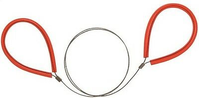 """General Tools 858 PVC Pipe Cable Saw 24"""" Serrated Stainless Steel Cutting Cord"""