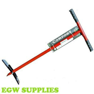 Garden Compost Aerator Turner Essential Composting Hand Tool Darlac Dp788