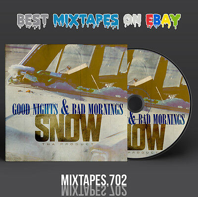 Snow Tha Product - Good Nights & Bad Mornings Mixtape (CD/Front/Back Cover)