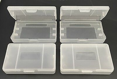 Game Cartridge Cases For Nintendo Gameboy Advance Games Set Of 4 - Gba