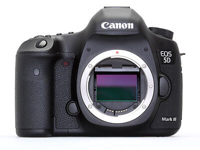 Canon EOS 5D Mark III 22.3 MP Digital SLR Camera - Black (Body Only) - Brand NEW