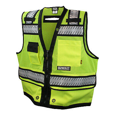 Dewalt Safety Vest  Class 2 Heavy Duty Surveyor Vest Dsv521