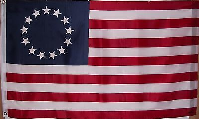 Betsy Ross Patriotic Usa Historical Flag - 1776 - Patriot - American Revolution