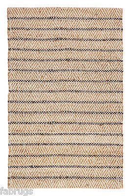 FabHab Indoor Jute Cotton Rugs Aster Handwoven Runner 75x240cm