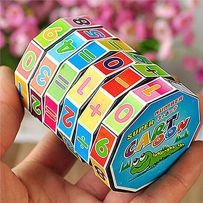 New Design Children's Educational Toys Learning Math Digital Cube Toy For Kids