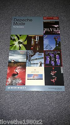 Depeche Mode The Remasters   Promotional  Poster  RARE