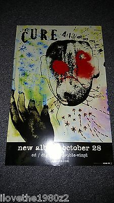 The Cure 4:13 Dream  Promotional  Poster  RARE