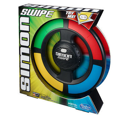 Simon Swipe - Electronic Memory Game - Hasbro - NEW
