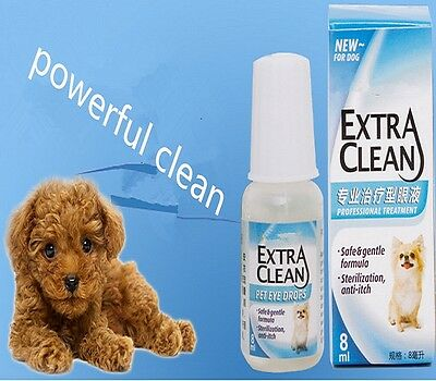 1/2/3Pcs Pet Dog Puppy Eye Drop Kill Virus Liquid Solution Health Care