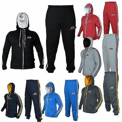 ARD CHAMPS™ Fleece Tracksuit Hoodie Trouser MMA Gym Boxing Running Jogging Suit