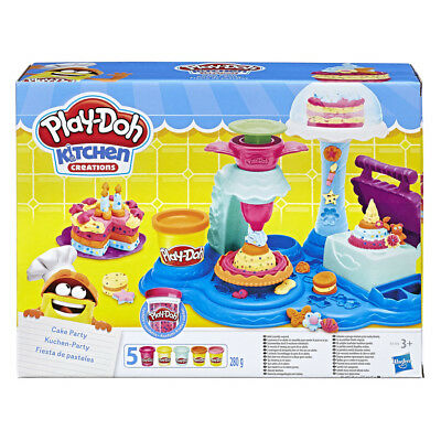 Play-Doh Cake Party Play Set NEW