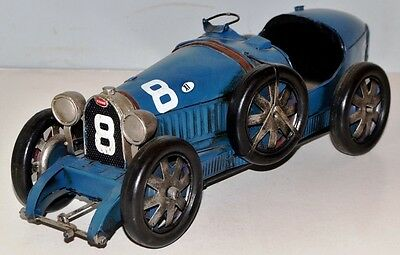 Auto um 1926 Oldimter Blechauto Blechmodell Tin Model Vintage Car 36 cm 37857