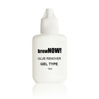 browNOW! Adhesive GLUE REMOVER - Individual Eyebrow Extensions GEL TYPE