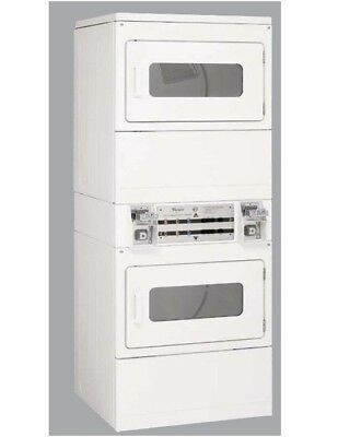 Whirlpool Coin-Op Stack Electric Dryer CSP2860TQ