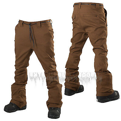L1 Premium Goods Mens 2016 Snowboard Coffee THUNDER PANTS