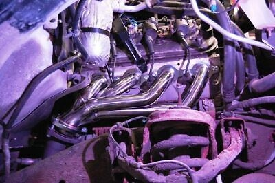 Chevy GMC 4.8L 5.3L V8 Stainless Race Headers Silverado Sierra Truck LS MPG+
