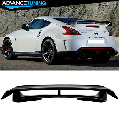 Fit For 09-16 Nissan 370Z Nismo Trunk Spoiler - Unpainted ABS