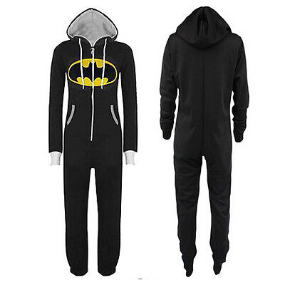 Adult Onesie Pajamas Batman Cosplay Kigurumi Sleepwear Batman Xmas Party Unisex